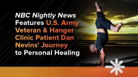 NBC Nightly News Features US Army Veteran & Hanger Clinic Patient Dan Nevins' Journey to Personal Healing